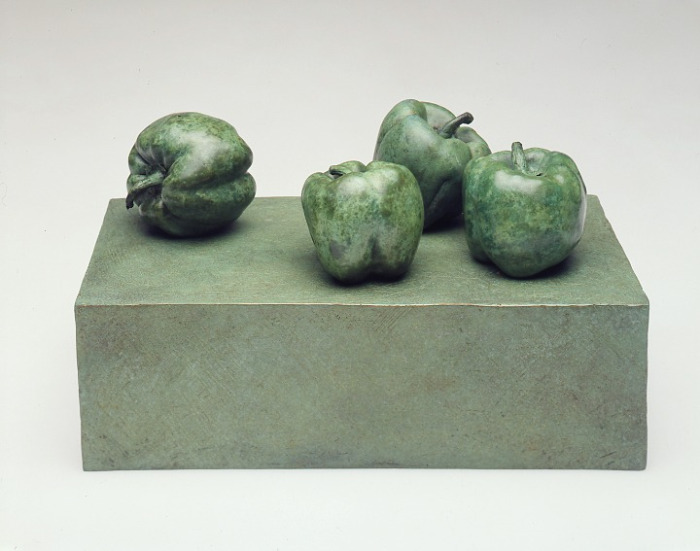 FOUR GREEN PEPPERS
