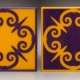 PURPLE-GOLD VENICE GATE