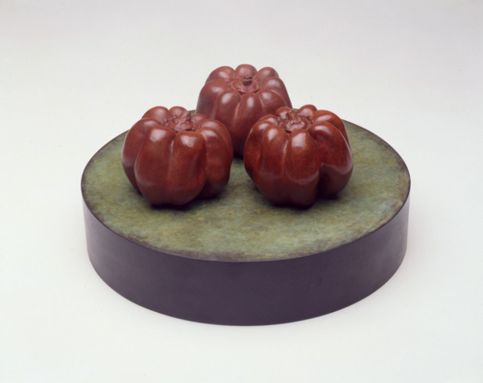 THREE ROUND PEPPERS