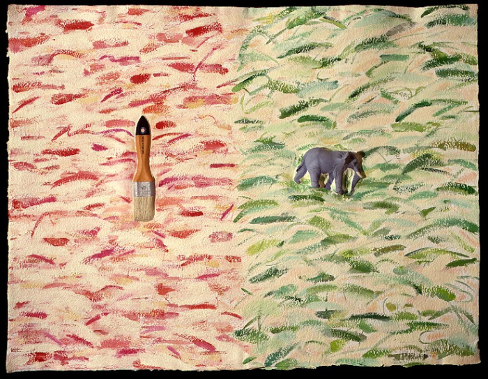 ELEPHANT/BRUSH 1984