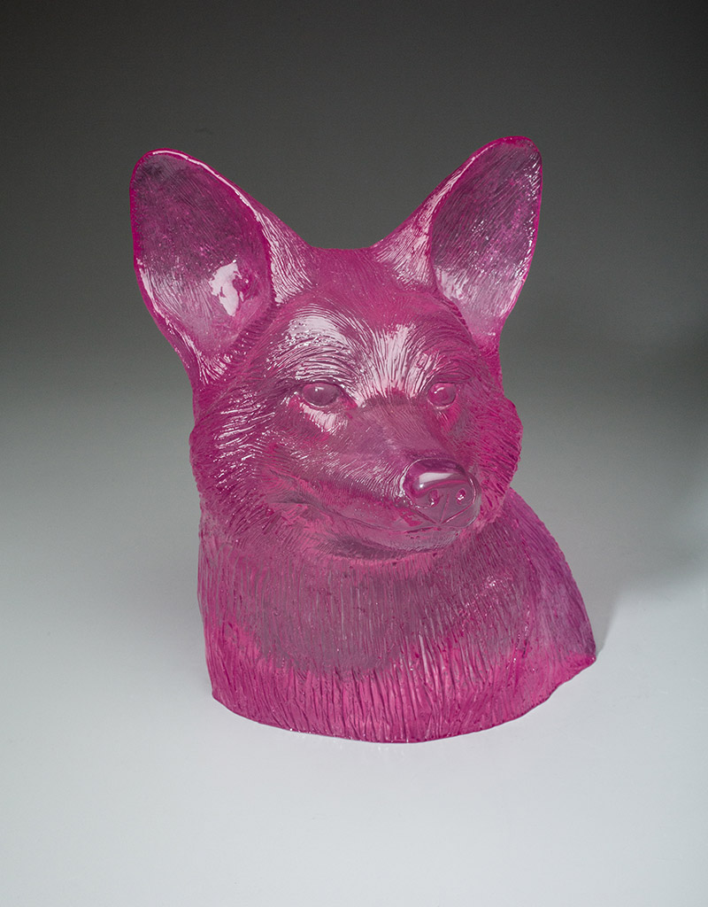 Coyote Bust - Pink