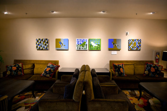 Paramont Hotel Lobby