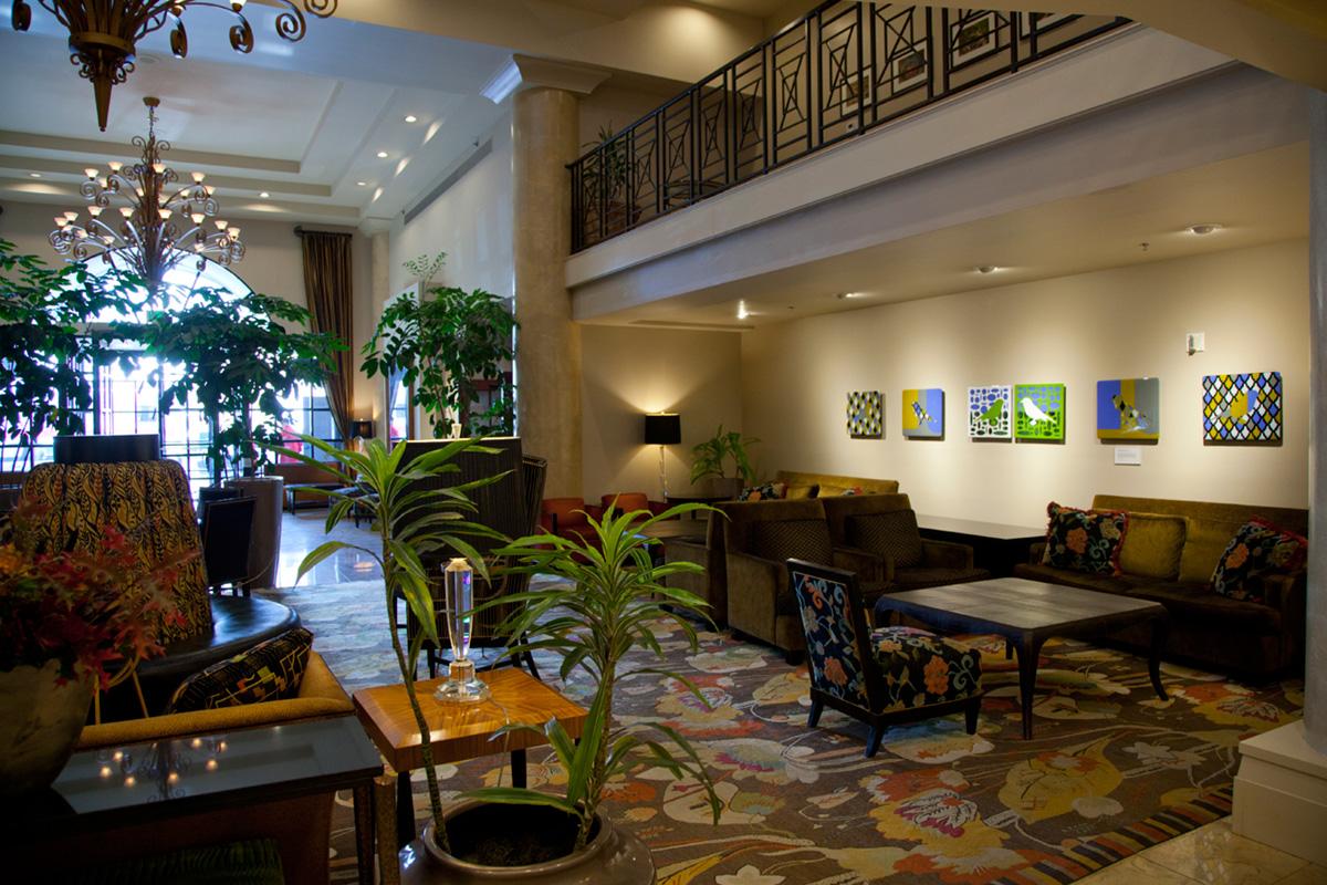 Paramont Hotel Lobby IV