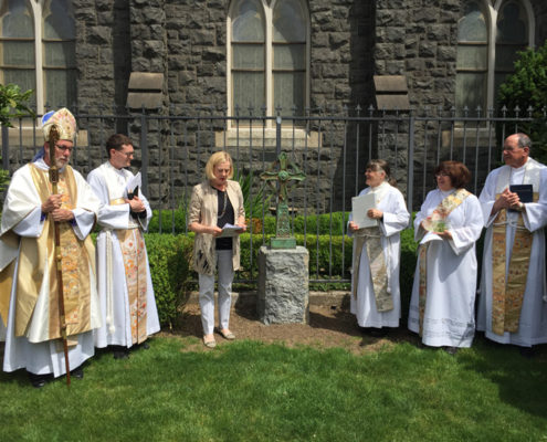 Dedication of TRINITY CROSS at Trinity Episcopal Cathedral, Portland, OR May 2015