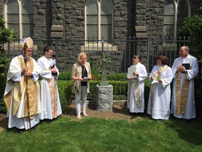 Dedication of TRINITY CROSS at Trinity Episcopal Cathedral, Portland, OR May 2015